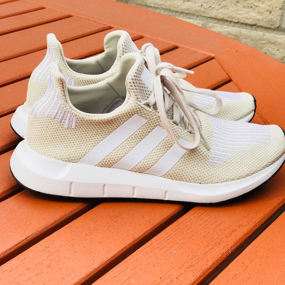 ad68ef6d9 adidas Shoes - Women s 8.5 Adidas Swift Run Beige Nude 👟